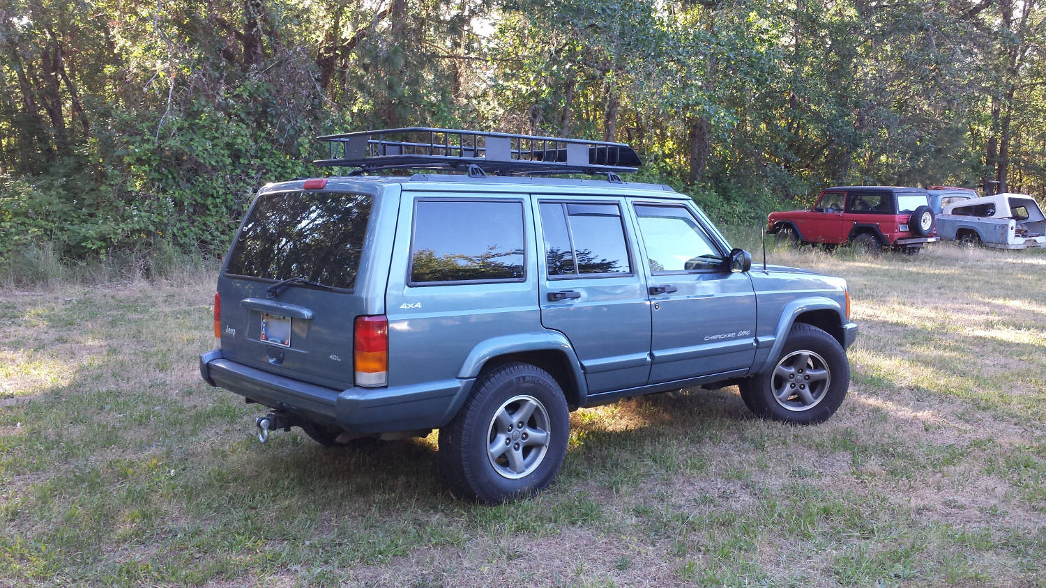 Curt Roof Rack W Extension Pic Heavy Jeep Cherokee Forum